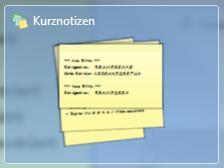 kurznotizen windows 7