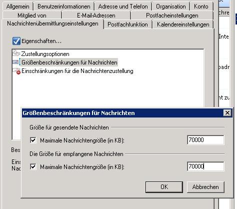 Exchange-Verwaltungskonsole